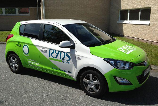 Ryds Hyundai i20 bildekor