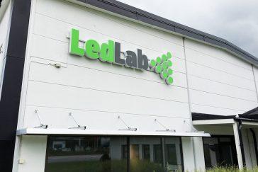 Profilbokstäver till LedLab
