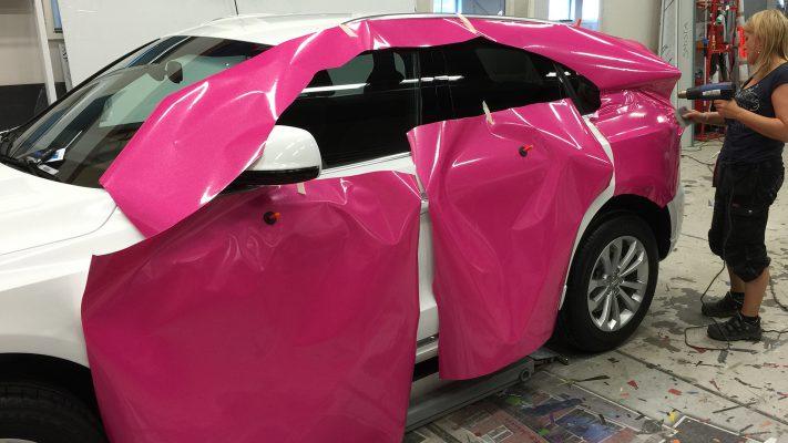 Helinklädning/car wrap1