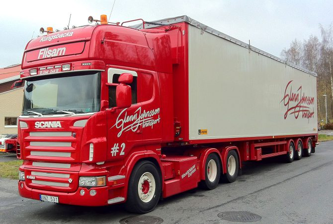 Lastbilsdekor Glenn Johnsson Scania