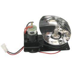 Rotorljus M6 inkl. motor & lampa