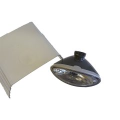 Extraljussats inkl. glasklara kåpor