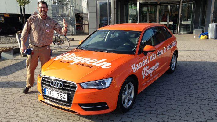Helfoliering Vimpeln Audi A3
